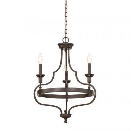 Savoy House Europe Sheilds 3 Light Chandelier
