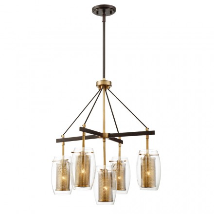 Savoy House Europe Dunbar 5 Light Pendant