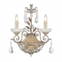 Savoy House Europe Victoria 2 Light Wall Lamp