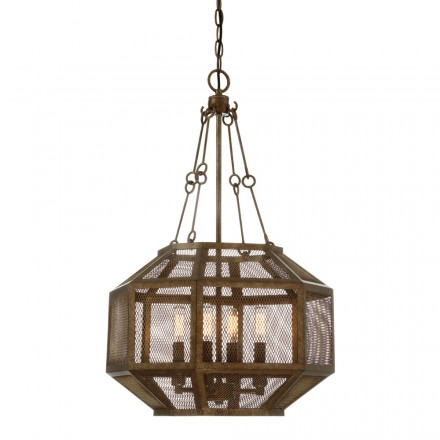 Savoy House Europe Armour 4 Light Pendant