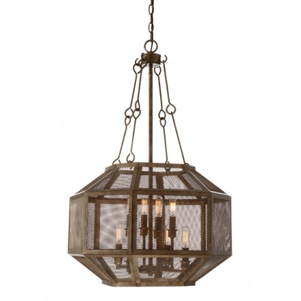 Savoy House Europe Armour 8 Light Pendant