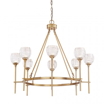 Savoy House Europe Garland 8 Light Chandelier
