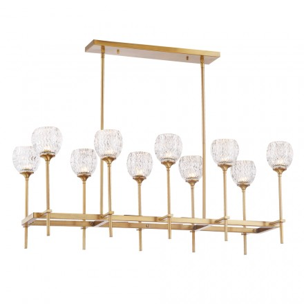 Savoy House Europe Garland 10 Light Chandelier