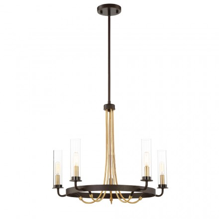 Savoy House Europe Kearney 5 Light Chandelier