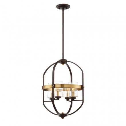 Savoy House Europe Kirkland 4 Light Foyer Pendant
