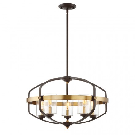 Savoy House Europe Kirkland 5 Light  Pendant