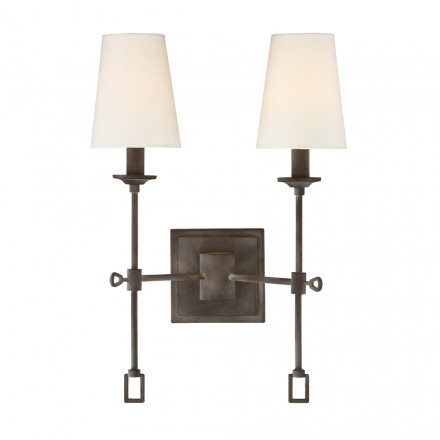 Savoy House Europe Lorainne 2 Light Sconce