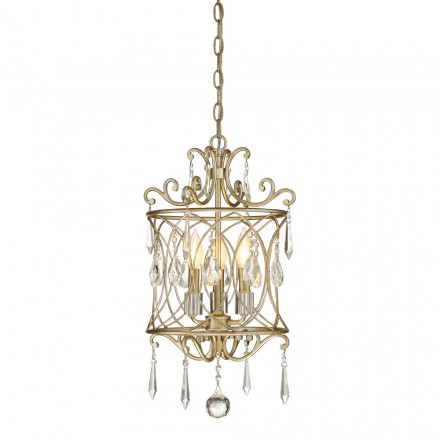 Savoy House Europe 3 Light Mini Chandelier