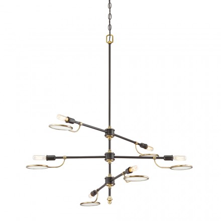Savoy House Europe Oberyn 6 Light Chandelier