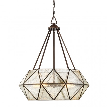 Savoy House Europe Tartan 5 Light Pendant