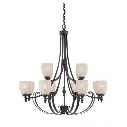 Savoy House Europe Duvall 12 Light Chandelier