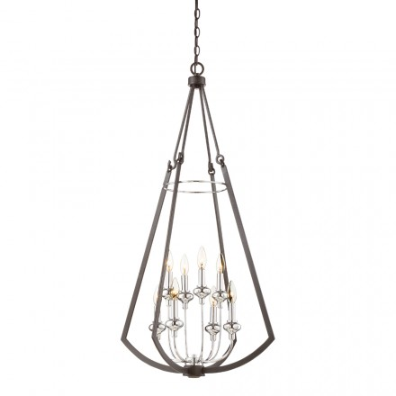 Savoy House Europe Dinant 8 Light Chandelier