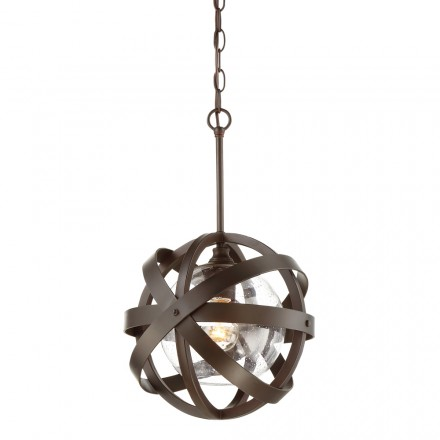 Savoy House Europe Bassett 1 Light Outdoor Pendant
