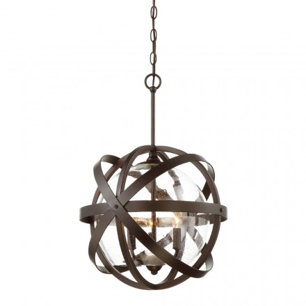 Savoy House Europe Bassett 3 Light Outdoor Pendant