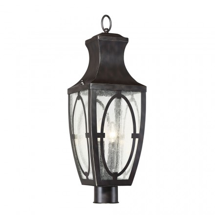 Savoy House Europe Shelton Outdoor Post Lantern