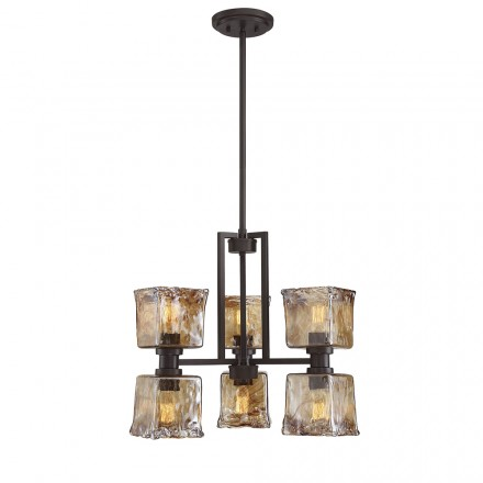 Savoy House Europe Tallin 6 Light Chandelier