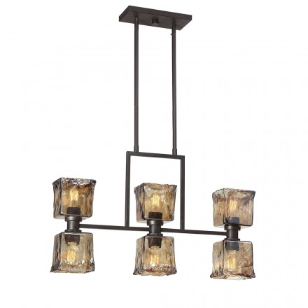 Savoy House Europe Tallin 6 Light Island Chandelier