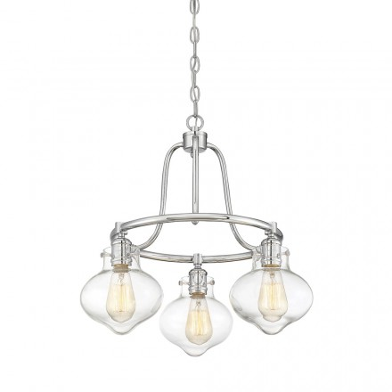 Savoy House Europe Allman 3 Light Chandelier