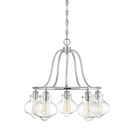 Savoy House Europe Allman 5 Light Chandelier