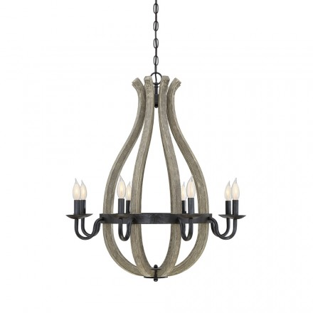 Savoy House Europe Carrolton 8 Light Chandelier