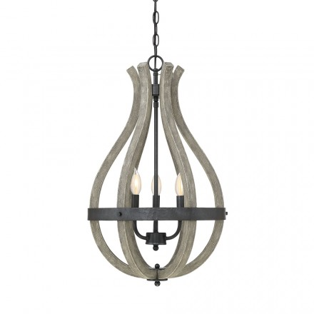 Savoy House Europe Carrolton 3 Light Pendant