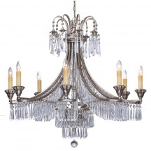 Savoy House Europe Pyramid 8 Light Chandelier