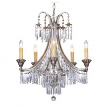 Savoy House Europe Pyramid 5 Light Chandelier