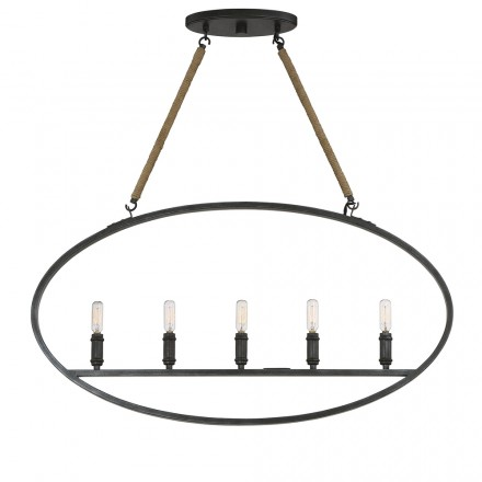Savoy House Europe Piccardy 5 Light Island Chandelier