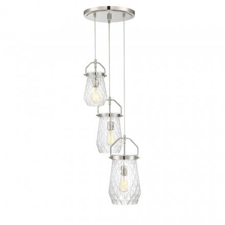 Savoy House Europe St. Clare 3 Light Multi Point Chandelier
