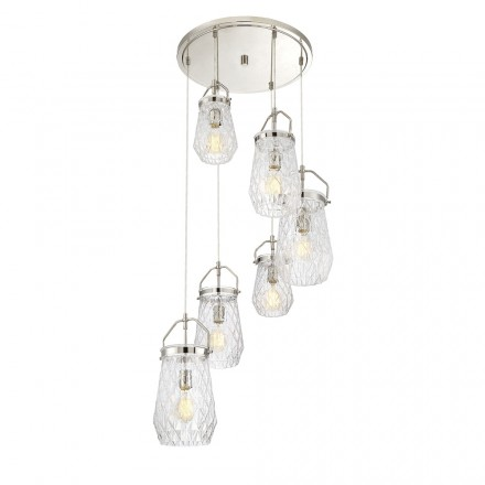 Savoy House Europe St. Clare 6 Light Multi Point Chandelier