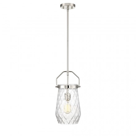 Savoy House Europe St. Clare 1 Light Mini Pendant