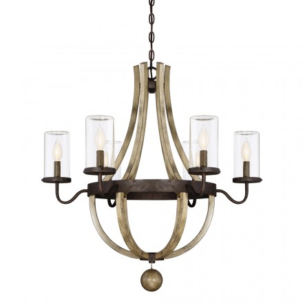 Savoy House Europe Eden 6 Light Outdoor Chandelier
