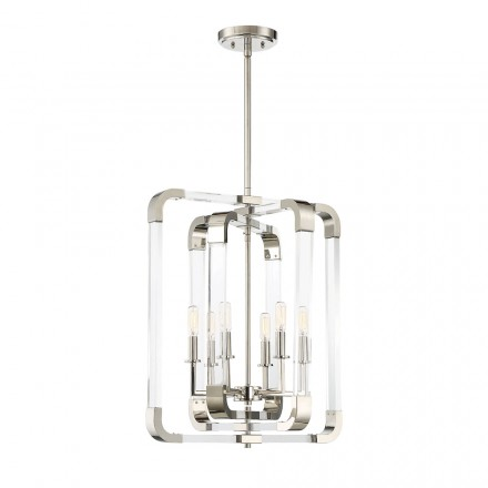 Savoy House Europe Rotterdam 6 Light Pendant