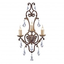 Savoy House Europe Viena 3 Light Wall Lamp