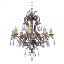 Savoy House Europe Viena 8 Light Chandelier