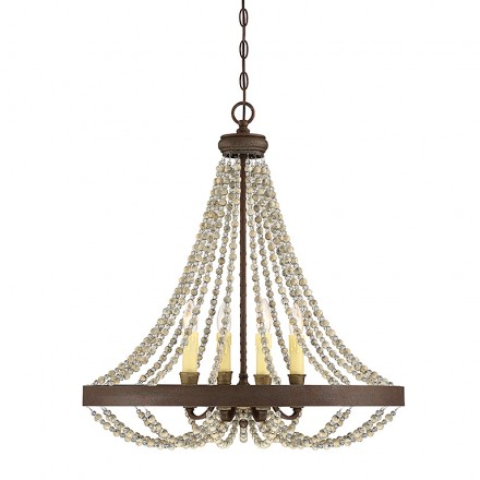 Savoy House Europe Mallory 4 Light Chandelier
