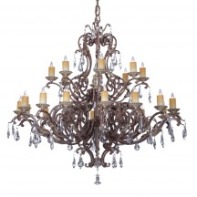 Savoy House Europe Viena 24 Light Chandelier