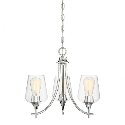 Savoy House Europe Octave 3 Light Chandelier