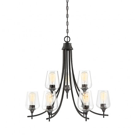 Savoy House Europe Octave 9 Light Chandelier