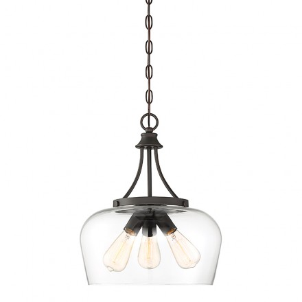 Savoy House Europe Octave 3 Light Pendant