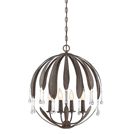 Savoy House Europe Sussex 4 Light Chandelier