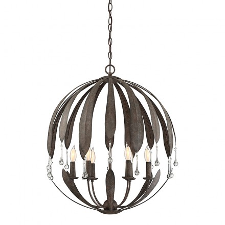 Savoy House Europe Sussex 6 Light Chandelier