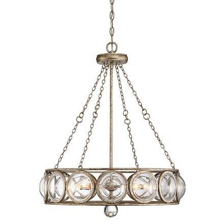 Savoy House Europe Warwick 5 Light Chandelier