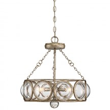 Savoy House Europe Warwick 3 Light Convertible Semi Flush