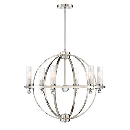 Savoy House Europe Belfast 6 Light Chandelier