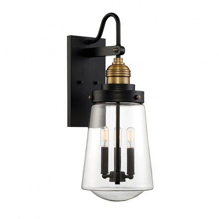 Savoy House Europe Macauley 3 Light Outdoor Wall Lantern