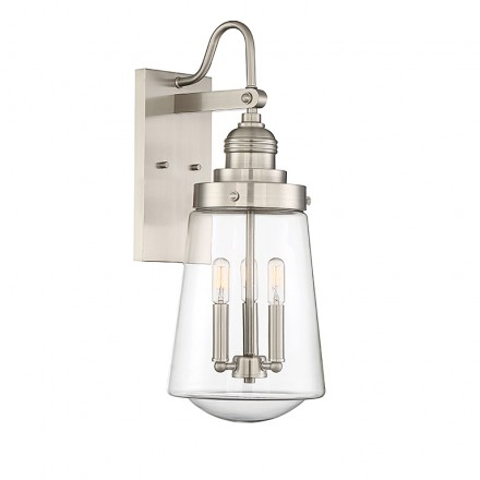 Savoy House Europe Macauley 3 Light Wall Lantern