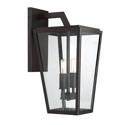 Savoy House Europe Milton 2 Light Wall Lantern