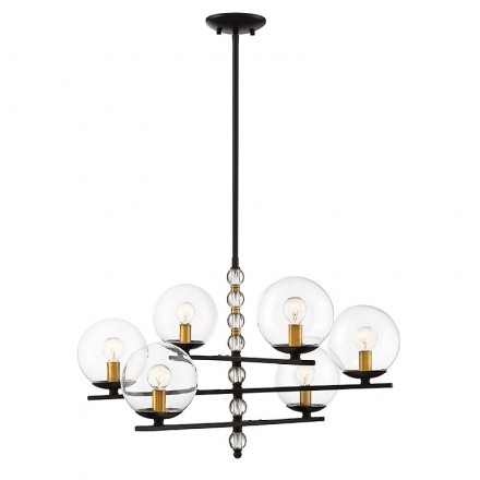 Savoy House Europe Granville 6 Light Chandelier