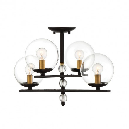 Savoy House Europe Granville 4 Light Semi Flush